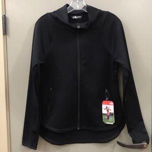 The north face black hard face fleece jacket